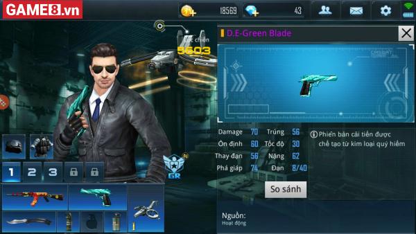 Phục Kích Mobile: Khi D.E Green Blade so hành cùng AK-47 Cloud - Đó sẽ là một cặp ''song sát''! - ảnh 2