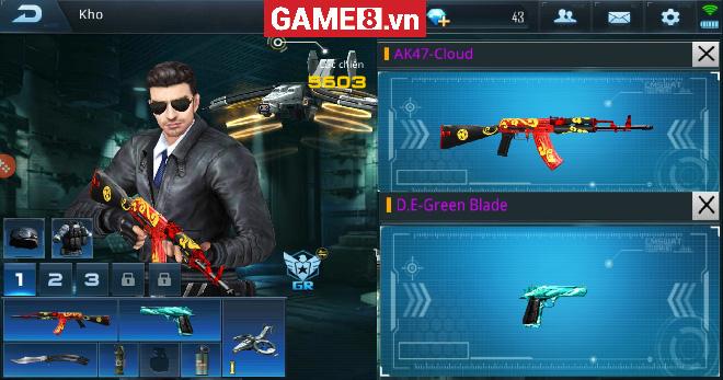 Phục Kích Mobile: Khi D.E Green Blade so hành cùng AK-47 Cloud - Đó sẽ là một cặp ''song sát''!