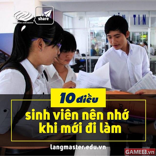 10 điều sinh viên khi mới ra trường đi làm nên khắc cốt ghi tâm