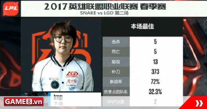 LMHT: GodV và Imp tỏa sáng giúp LGD giành chiến thắng trước SofM cùng đồng bọn