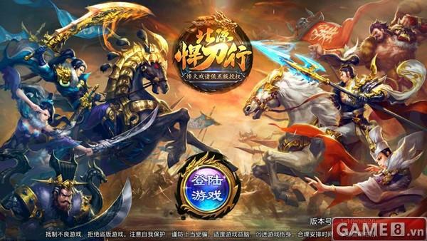 Bắc Lương Hãn Đao Hành - game mobile 3D quốc chiến cực hấp dẫn