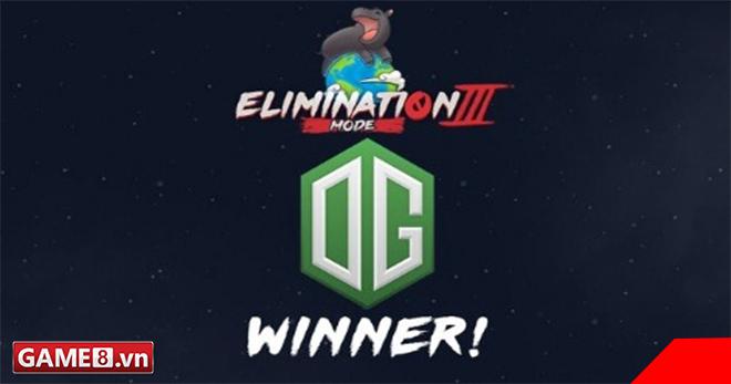 Dota 2 - Nhìn lại trận chung kết đưa OG lên ngôi vô địch Elimination Mode 3.0