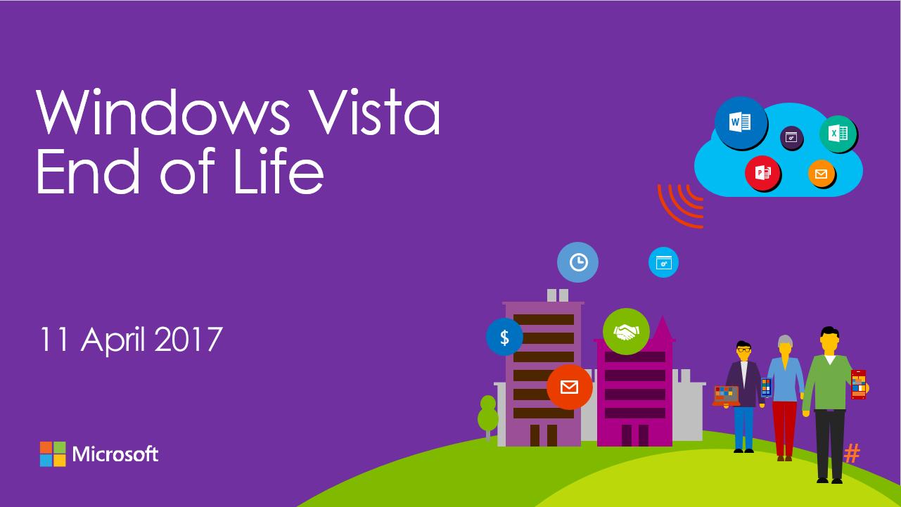 Microsoft chỉ còn hỗ trợ người dùng Windows Vista trong chưa đầy 2 tháng nữa