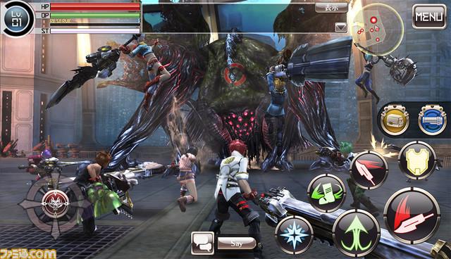 God Eater Online - Game mobile hành động chính thức ra mắt tại Nhật Bản