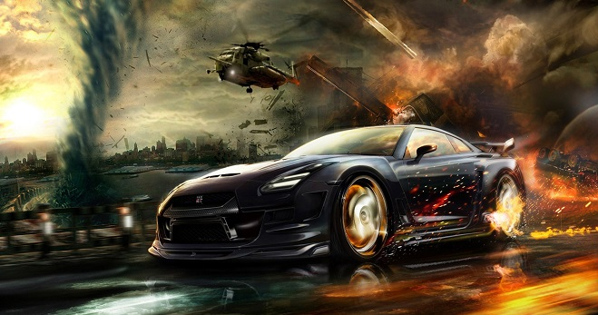 Game thủ cứu sống gia đình trong gang tấc nhờ...giỏi chơi game đua xe
