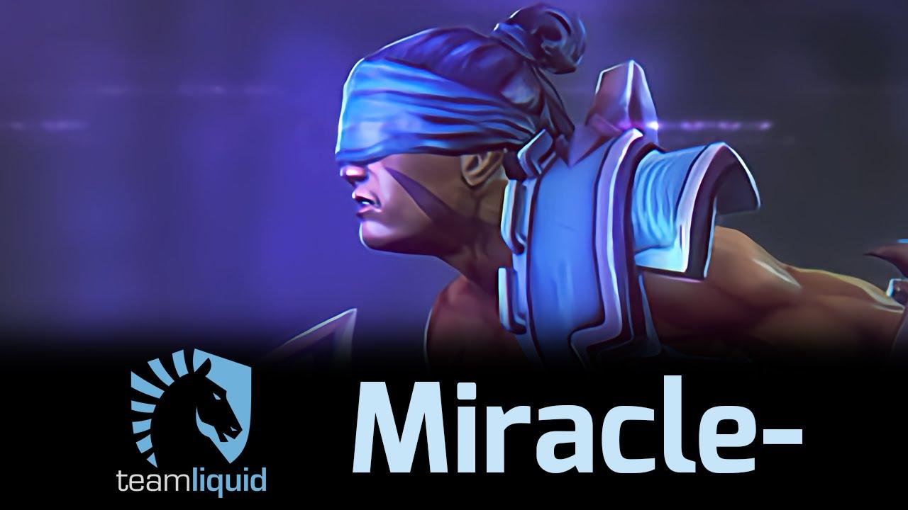 Dota 2 - AM Miracle- 1k GPM chấp cả Puppey và 13abyKnight
