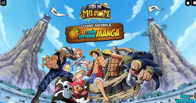 Cậu Bé Mũ Rơm - Game One Piece chính hiệu của Vega Game ra mắt cuối tháng 2/2017