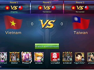 Mobile Legends: Sôi động trước những trận đấu giữa Việt Nam và Đài Loan trong Giải Quốc gia đang diễn ra