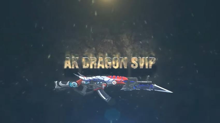 Truy Kích Mobile: Dragon sVIP - vũ khí tối thượng dòng AK, dám khơi mào mọi  cuộc chiến
