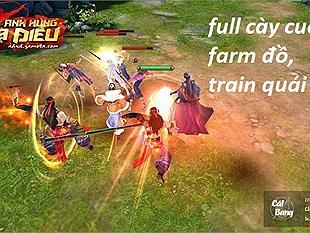 Anh Hùng Xạ Điêu Mobile - Game kiếm hiệp chân thực, chuẩn cày cuốc farm đồ, train xuyên màn đêm