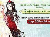 NSTT: Hướng dẫn tham gia sự kiện Công chúa anh vũ