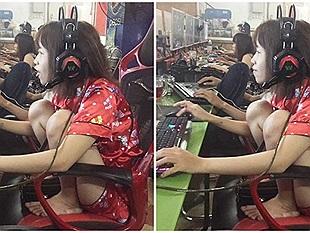 Bạn nghĩ nữ game thủ chơi Audition rất duyên dáng? Nhầm rồi, đây mới là sự thật!