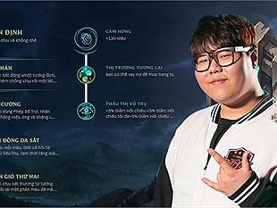 Bảng Ngọc Tái Tổ Hợp cho SP hỗ trợ LMHT mùa 8 của từng tướng theo các Cao thủ Hàn và Wolf
