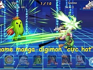 """Fan game manga-monster lại có """"món mới"""" Digi Đại Chiến vào ngày hôm nay"""