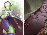 Loạt tranh vẽ cực dị của Dragon Ball không dành cho những ai yếu tim