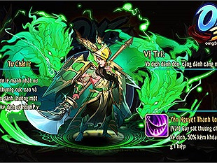 VNG trở lại dòng game đấu tướng chiến thuật với OMG 3Q