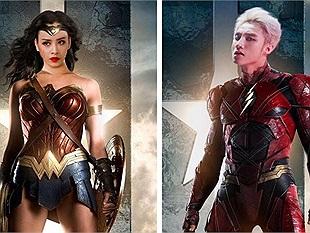 Hết cả hồn với biệt đội Justice League và Avengers phiên bản...showbiz Việt