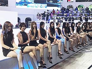 Chiêm ngưỡng dàn show girl nóng bỏng nhất hội chợ ChinaJoy 2017(P1)