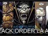 [Avengers: Infinity War] Đồng bọn của Thanos - Black Order là ai?