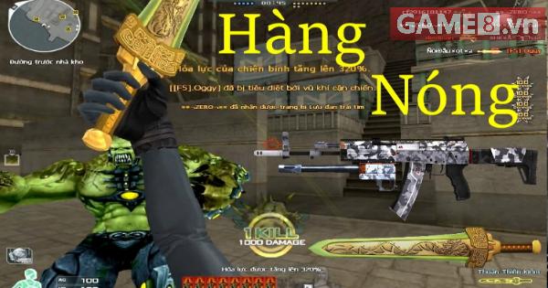 Đột Kích: Trải nghiệm AK12-Urban và Thuận Thiên Kiếm ngay sau Update cùng  Tiền Zombie V4