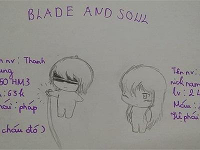 Quá yêu thích Blade and Soul, nữ game thủ này đã tự sáng tác và vẽ truyện tranh vô cùng đáng yêu