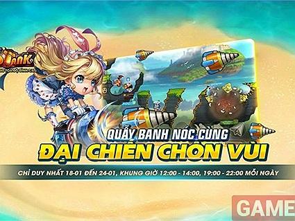 Garena DDtank ra mắt tuần lễ vàng 18/01 - 24/01 với những trải nghiệm thú vị
