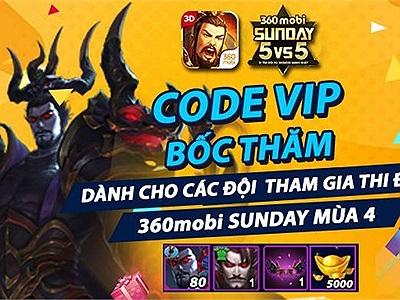 Giải đấu 360mobi Sunday trở nên gây cấn hơn khi thi đấu 5vs5
