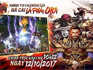 Tào Tháo PK -  MMORPG Tam Quốc siêu KHỦNG chính thức ra mắt vào sáng ngày hôm nay