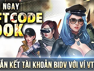 """""""Hút máu ngược"""" VTC Game với Giftcode CF/PK 200k hoàn toàn miễn phí!"""