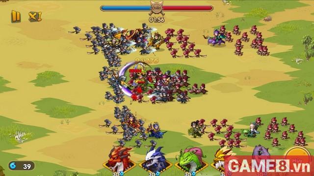 Huấn Long VNG - Game mobile đấu tướng chiến thuật sắp ra mắt game thủ Việt Nam