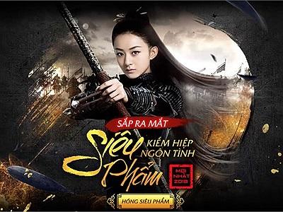 Xuất hiện trang teaser lạ với hình ảnh Triệu Lệ Dĩnh trong tạo hình Sở Kiều