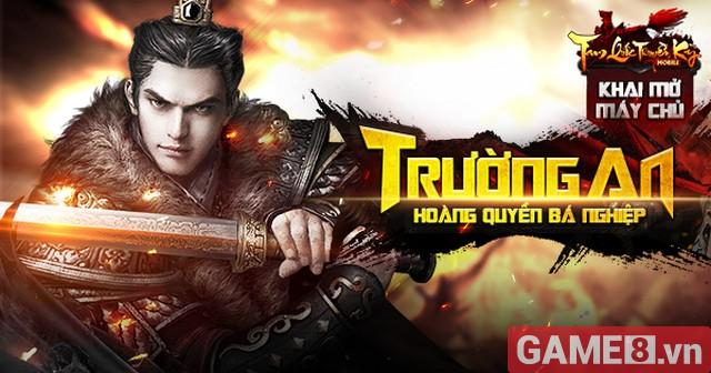 Tam Quốc Truyền Kỳ Mobile - Game chiến thuật cực chất đã chính thức ra mắt game thủ Việt