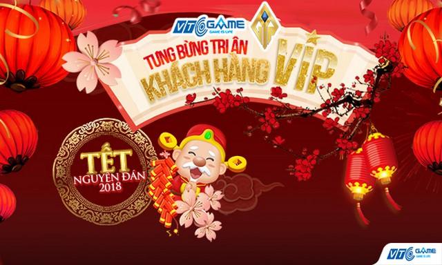 Tưng bừng siêu sự kiện tặng quà tri ân khách hàng VIP của NPH VTC Game