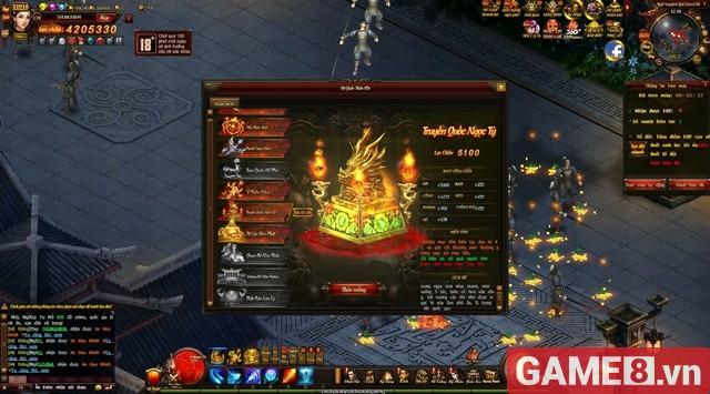 Webgame Võ Thần PK mở alpha test, tặng game thủ vàng chơi xả láng