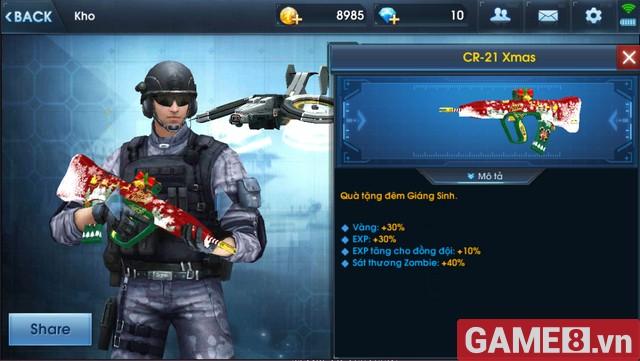 CR-21 - XMAS Vũ khí khiến Zombie