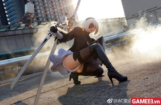 Sẽ thế nào khi cosplay 2B trong Nier: Automata là một chàng trai, ...