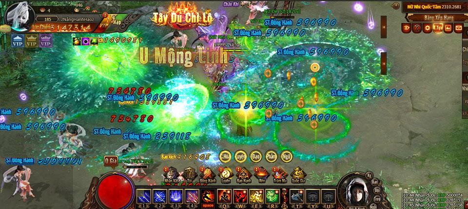 Tây Du Chi Lộ - webgame Tây Du nhập ma đầu tiên tại thị trường game Việt