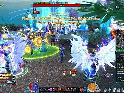 Có quá nhiều hoạt động PK trong Ngũ Thần 3D Online