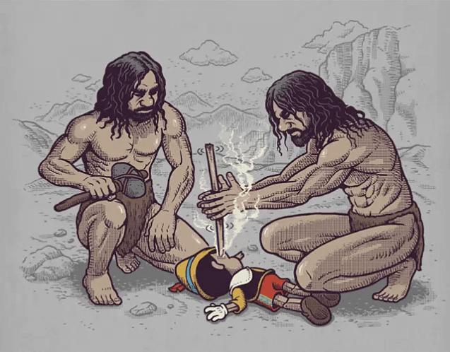 Khi phim hoạt hình biến thành phim kinh dị - 12 bức ảnh này sẽ phá tan tành tuổi thơ bạn