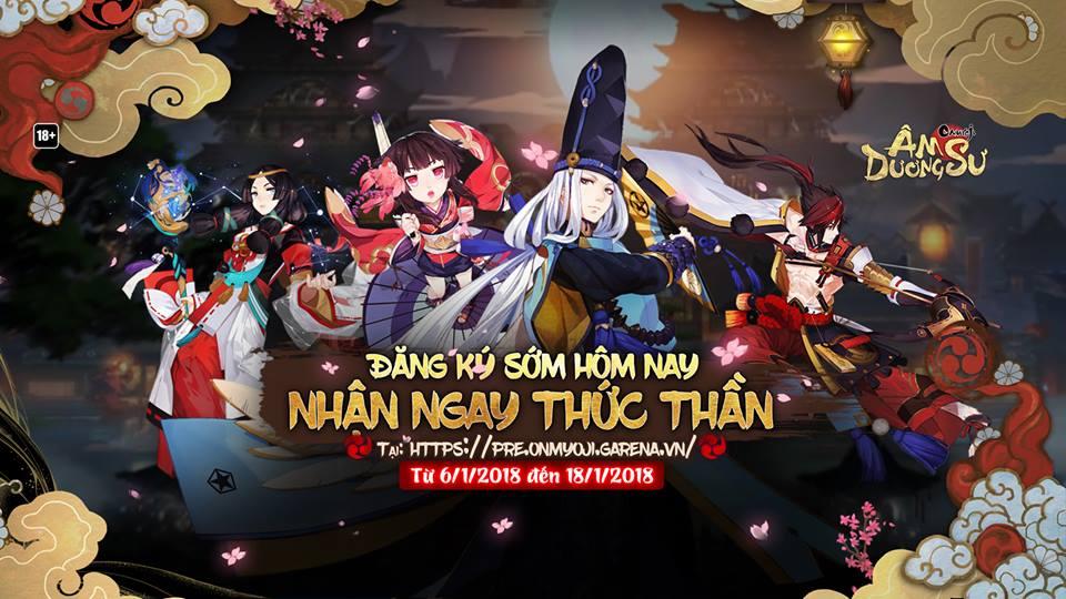 Chỉ còn vài ngày nữa, Onmyouji - Tựa game đình đám Nhật Bản có tên Âm Dược Sư chính thức mở cửa cho game thủ Việt - ảnh 1