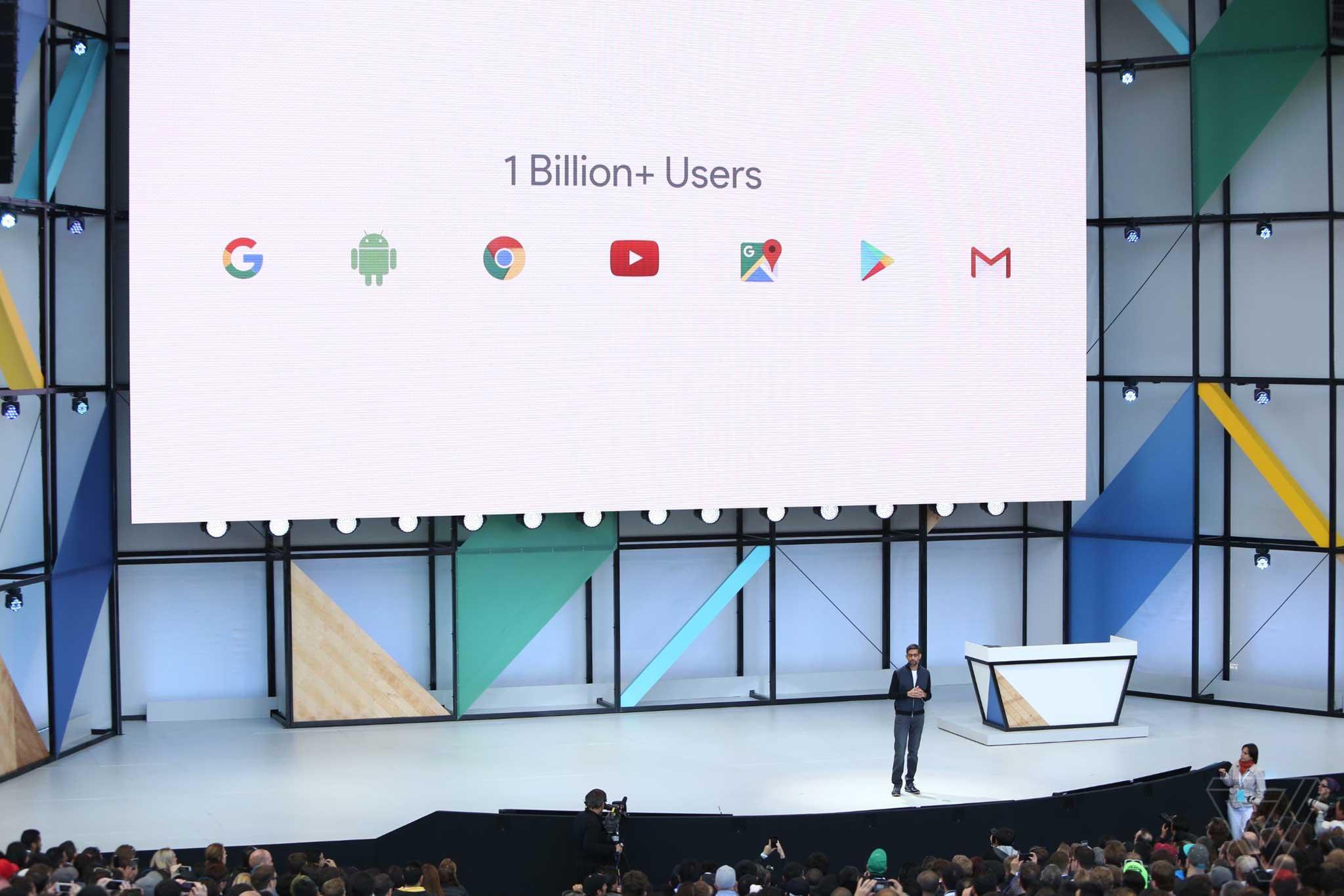 2 tỷ người dùng android trên thế giới