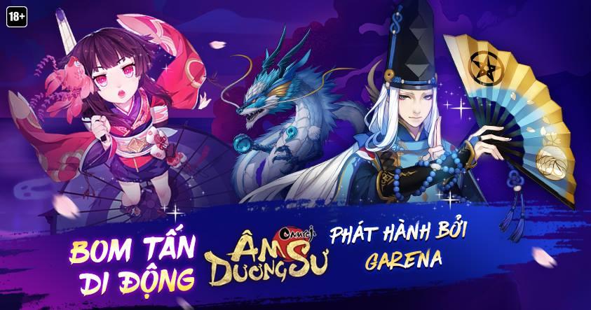 Garena Âm Dương Sư - Phiên bản tiếng Việt của tựa game Onmyouji đã khai mở  trang đăng ký sớm