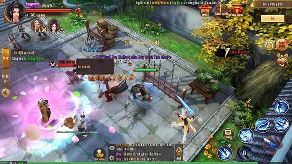 Anh Hùng Xạ Điêu Mobile - Game kiếm hiệp chân thực, chuẩn cày cuốc farm đồ, train xuyên màn đêm - ảnh 3