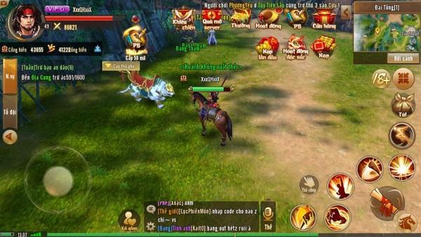 Anh Hùng Xạ Điêu Mobile - Game kiếm hiệp chân thực, chuẩn cày cuốc farm đồ, train xuyên màn đêm - ảnh 2