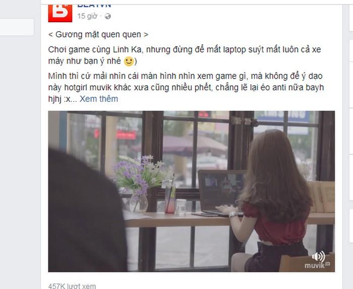 Hotgirl 10x Linh Ka tiếp tục làm điên đảo MXH với clip lần đầu làm chuyện