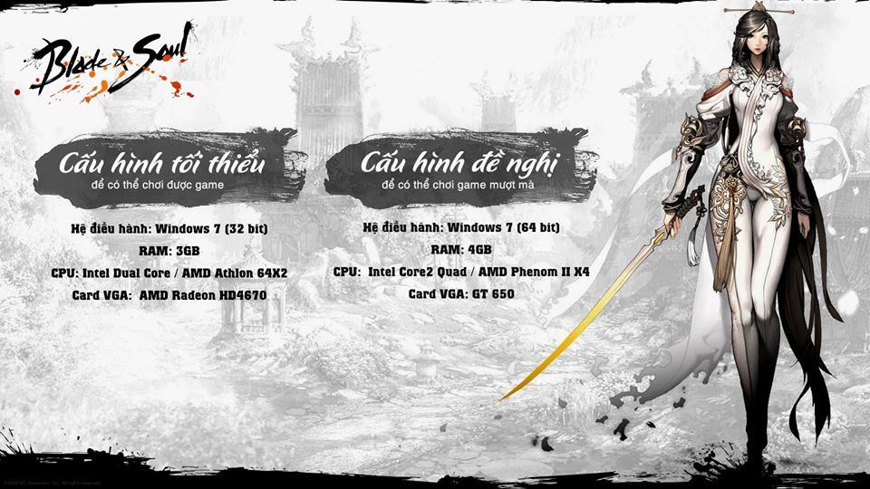 Blade and Soul: Hướng dẫn tăng FPS và giảm cấu hình cho máy cấu hình yếu