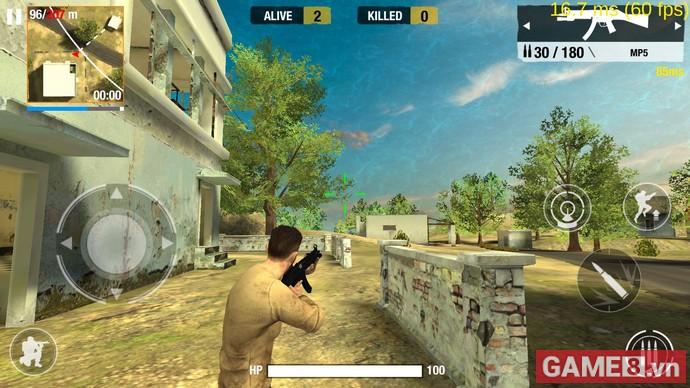 Bullet Strike: Battlegrounds Mobile, tựa game sinh tồn do chính người Việt sản xuất khai mở Alpha Test