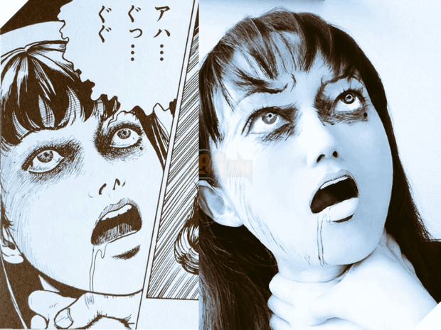 Cô gái tài năng đem truyện tranh kinh dị nhất Nhật Bản đến với thế giới thực