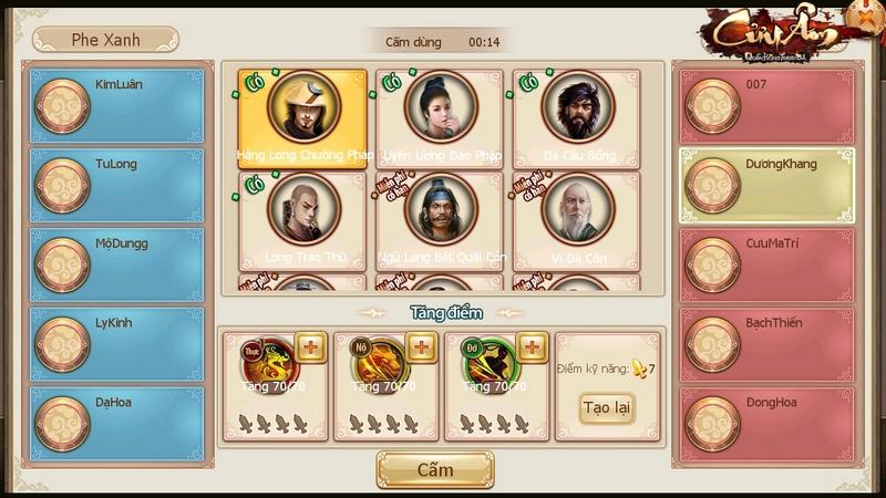 Khi game kiếm hiệp cũng có tính năng MOBA