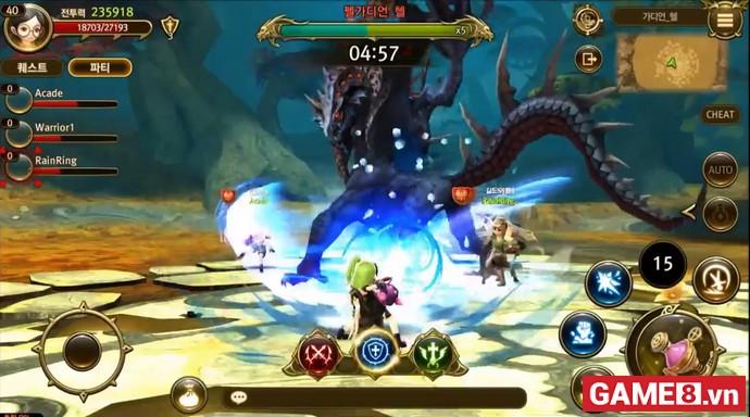 Dragon Nest World: Game khủng đa nền tảng thế giới mở chính chủ Hàn Quốc sắp có mặt trên toàn thế giới